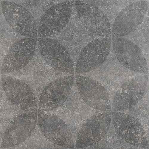 Hormigon Floret Antracite Decor 60x60